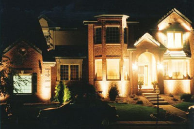 Alpine Edge Landscape Lighting - architectural lighting